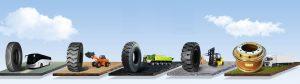 индустриални гуми за всякакъв вид техника